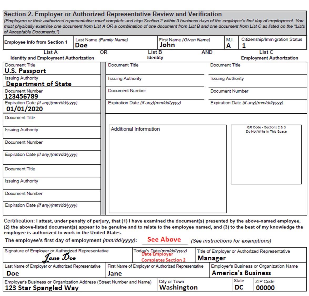 Form I-9 PDF